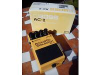 Boss AC-2 Acoustic Simulator pedal