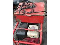 Mobile welder with Honda generator