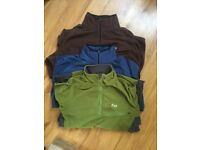 RAB active wear fleeces -size large