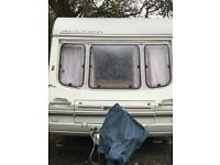 Swift Accord 490 5 Berth Caravan 1995 with Full Bradcott Awning