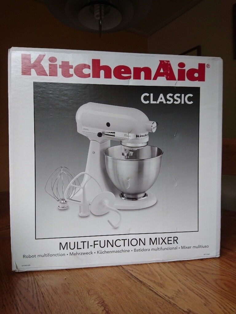 Kitchen Aid Food Mixer Plus pasta and mincer attachments - as new ...