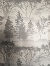Forest/tree print Wallpaper, 13m