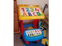 Kids abc table like new