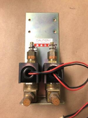 Hitachi S-3200n Scanning Electron Microscope Repair Part W Ckd Solenoid Valves