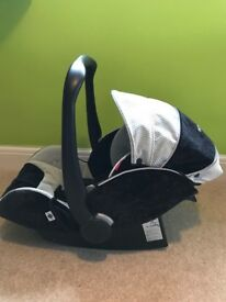Recaro Young Profi Plus (Group 0+), Young Expert Plus (Group 1) and Isofix base
