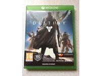 Xbox one destiny game.