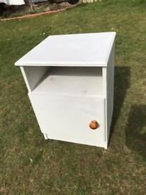 Painted bedside cabinet (can deliver)