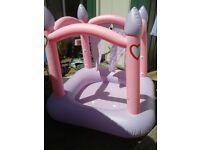 HUGE PINK PADDLING POOL EXCELLENT CONDITION