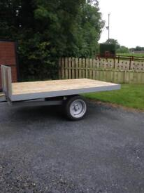 Tractor tipping trailer £380