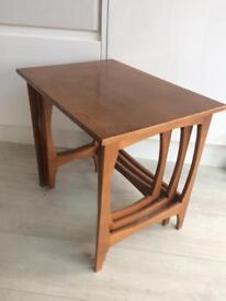 Gplan style retro nesting tables