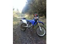 Yamaha WR250F In White & Blue