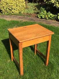 Vintage wooden school , Esavian, desk for sale