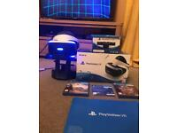 Playstation VR Fully Boxed With Games, Camera And VR Stand