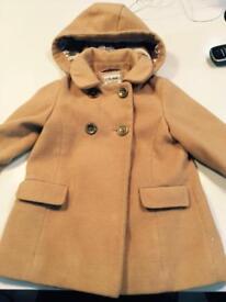 Girls Next coat age 4-5