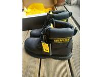 *New* Caterpiller steel toe boots UK 8