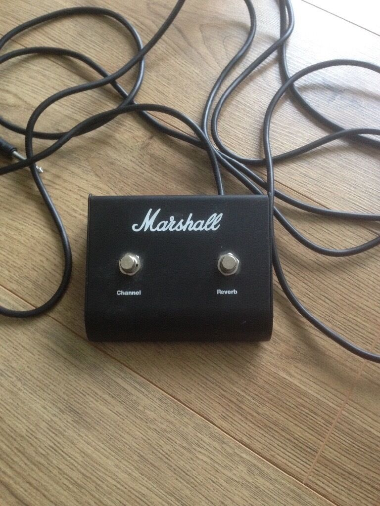 Marshall Two Way Footswitch In Waterlooville Hampshire Gumtree - Two way footswitch