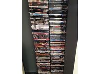 Over 200 dvds various titles