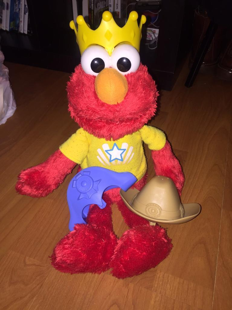 Let's Imagine Elmo 3 Different Hats, Songs, Tickle, Counting..