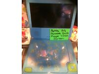 Peppa pig portable DVD player with 7 inch tv screen