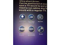 Projector smart tv( brand new) look at pics!!