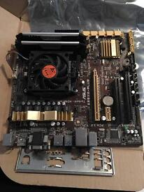 Asus bundle ram,motherboard,cpu