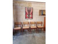 4 x G plan Chairs Mid Century Retro
