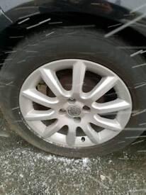 """Set of 4 16"""" vauxhall alloy wheels"""