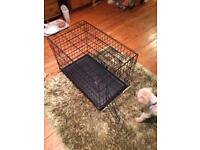 """Two Doors Pet Cage 30"""" high"""