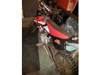 Red Barron 90cc pitbike