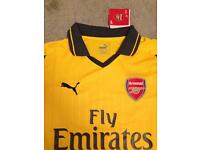 Genuine arsenal away shirt