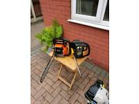 2 CHAINSAWS BOTH BEEN FULLY SERVICED EVERY