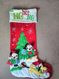 Light up rudolph - disney stocking