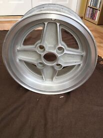 Ford RS2000 alloy wheel - Escort Capri Fiesta