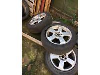 Skoda Octavia m2 alloy wheels
