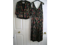 Dress and Jacket, size 12, as NEW