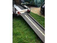 Motorcycle trailer great condition