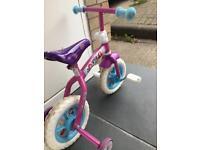 "2 in 1 10"" Disney princess bike"