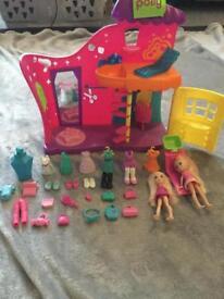Polly pocket salon