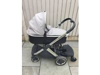 Oyster 2 pram and carrycot pushchair with/without buggy board