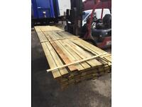 Pressure treated 100x22 fence slats 4.8m