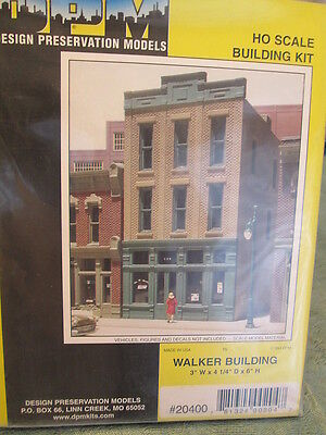 Dpm Ho  20400 Walker Building   Woodland Scenics Dpm Landmark Structures R