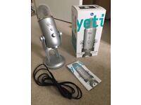 Blue Yeti Microphone USB Professional recording mic boxed