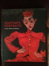 Soutine's Portraits- Cooks, Waiters & Bellboys Art Book