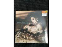 Madonna Like A Virgin-Ray of light Ltd Editions Clear Vinyl and BLUE vinyl