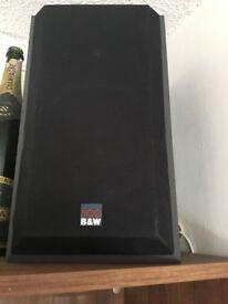 Bookshelf speakers. B&W series 500