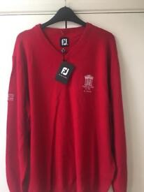 Footjoy golf jumper