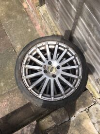 Ford rs tyres and allow wheels full set