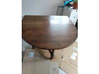 wooden table drop down (winford)