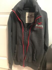 Hollister fleece jacket