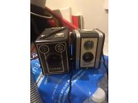 Vintage Antique Kodak cameras 2 of